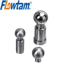 Rotary stainless steel tank spray ball