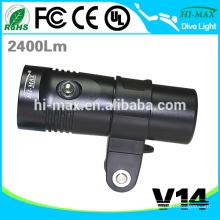 Hi-max V14 Scuba diving equipment for Diving Lamp led video camera light