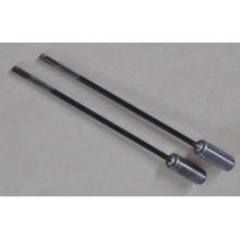 Perceuse à flûte simple en carbure solide