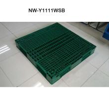 China Hersteller der großen Größen-Plastikpalette für Fabrik-Supermarkt 1100 * 1100 * 150 (Millimeter)