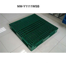 Fabricante de China de la plataforma plástica del tamaño grande para el supermercado 1100 * 1100 * 150 (milímetro) de la fábrica