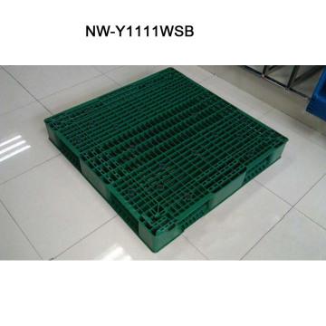 China Manufacturer of Big Size Plastic Pallet for Factory Supermarket 1100*1100*150 (mm)