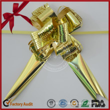 Manufacture Various Plastic Butterfly Pull Bow for Christmas Decoration