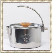 Чайник из нержавеющей стали с регулируемой ручкой (CL2C-DK1409)