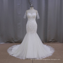 Flare lace bodice tulle little bride wedding dresses of 12 constellations