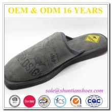 Good quality mens promotional brand slipper