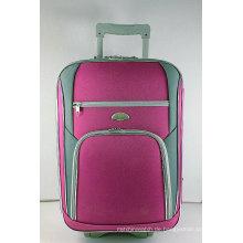 Shantungseide Stoff EVA Außen Trolley-Tasche mit Matched Farbe