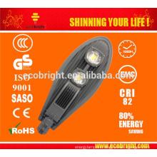¡VENTA CALIENTE! 100W precio luz de calle del LED, impermeable 3 años garantía 100W lámpara de calle LED
