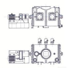 Mezclador del polvo de la serie LDH de 2017 series, mezclador del ribon de los SS, mezclador horizontal del polvo del laboratorio