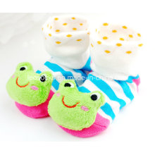 2016 Hot Sale 3D Anti-Slip Fancy Cotton Baby Socks