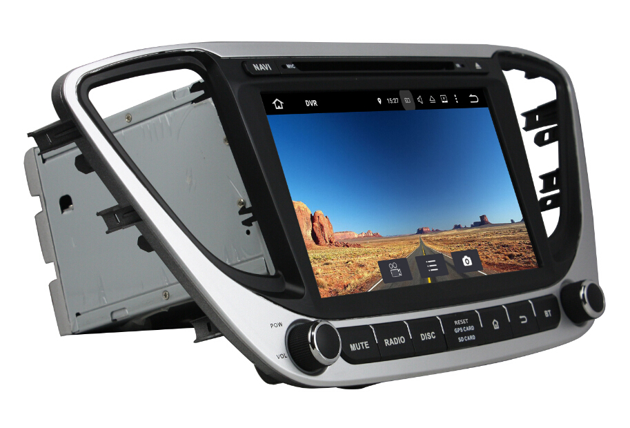 Android 7.1 Car DVD Player For Hyundai Verna