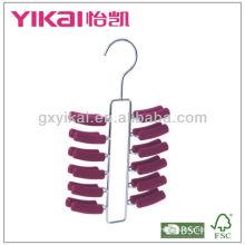 Вешалка с металлическим плетеным покрытием EVA с 24 стойками