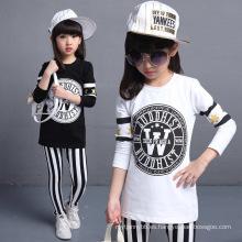 Wholesale Trajes de moda y deportes frescos para niñas