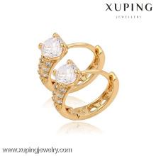 (90098) Boucle d'oreille en plaqué or 18 carats de haute qualité Xuping Fashion