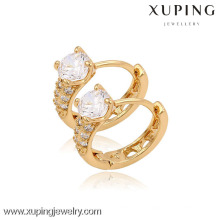 (90098)Xuping Fashion High Quality 18K Gold Plated Earring