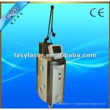 Fraction laser lisse peau cicatrice clinique clinique Machine