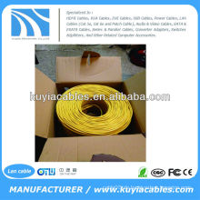 CAT6 1000FT UTP SOLID NETWORK ETHERNET KABEL BULK WIRE RJ45