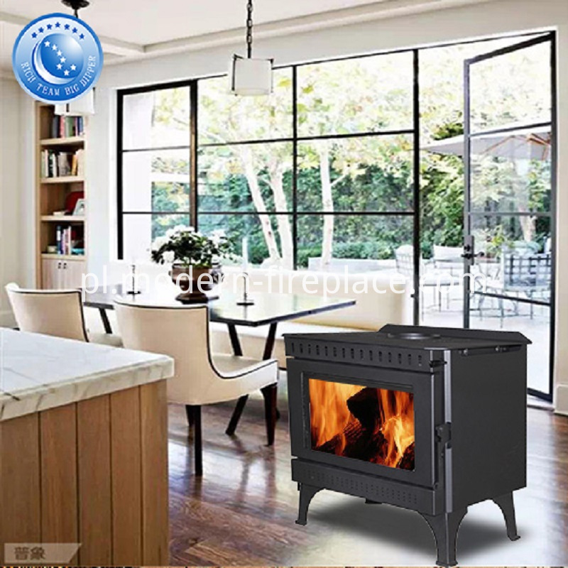 Wood Burning Stoves Installation Steel Plate