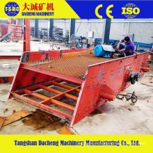 China Qurry planta de minería de arena de grava y piedra vibración pantalla