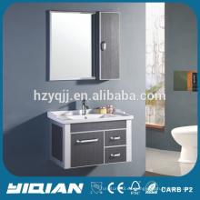 Vanidad de baño de aluminio de pared