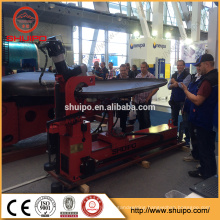 CNC dished head spinning machine/automatic dished head flanging machine/Tank dish end rolling machine