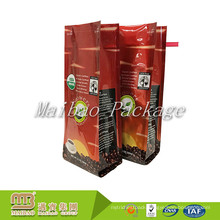 Custom Logo Printed Recycle Vacuum Side Gusset Compound Material Aluminum Foil 12oz Coffee Bags With Tin Tie Closure And Valve