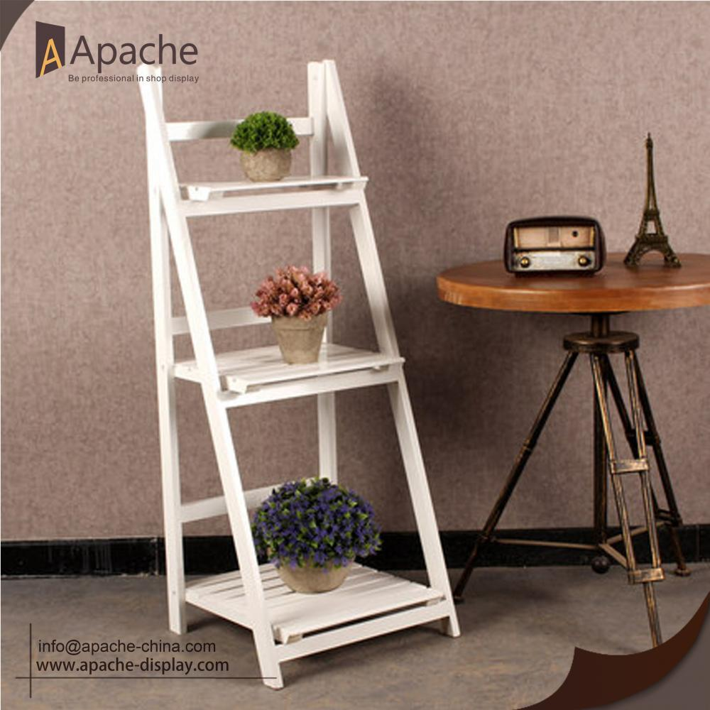 Multi-function Wooden Flower Rack for Retail Store