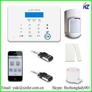 2014 интеллигентая(ый) домашней безопасности PSTN GSM сигнализация GSM - X 6