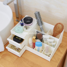 Home Plastic Cosmetic Makeup with Drawer