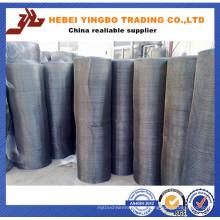 Oferta fiable de la fábrica usted paño de filtro negro de la alta calidad