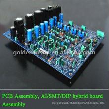 montagem do PWB do amplificador Conjunto de FPCB com conjunto rápido do PWB da volta rápida
