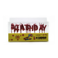 Letter Party Decoration Paraffin Lilin Birthday Wax