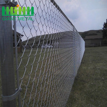 Murah Berlian Cyclone Galvanized Chain Link Fence