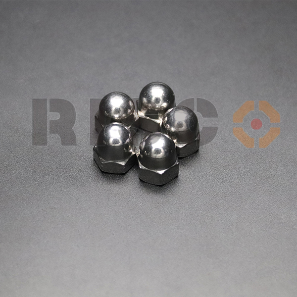 A2 Polished Hexagon Nut