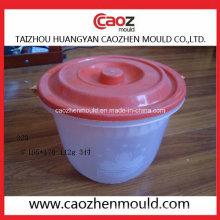 Moulage par injection de gaz d'échappement en plastique usagé en stock