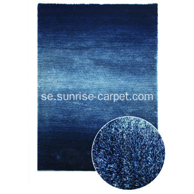 Polyester Silk Shaggy med Loop Carpet