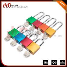 Электроннополярный полезный и прочный цветной металлический защитный замок Pad