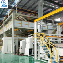 Spunbond non-woven fabric production line for agriculture