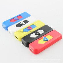 Briquet électrique USB de haute qualité pour les cadeaux de promotion