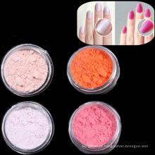 Pó fotocromático do pigmento da mudança UV da cor para o prego