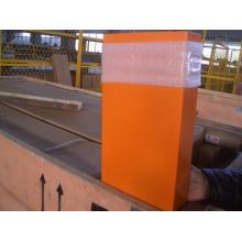 Оранжевый Carbin для лифта / Оранжевая автомобильная стена