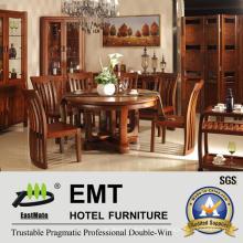 Отличная круглая деревянная столовая мебель (JA-C-1003)