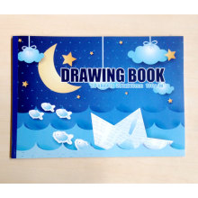 A4 Tamanho Livro Branco Student Drawing Notebook Children Coloring Book for Children Gift