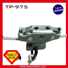 TP-975 13mm Jungle Trolley Zipline Cable Jungle Adventure Aluminum overhead cable crossing liusuo double Pulley