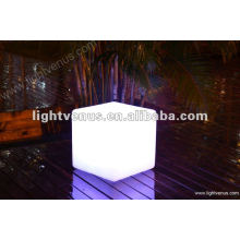 Fashion competitive LED cube table