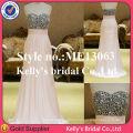 летние вечерние одежда для женщин вечерние шифон платья выкройка милая блесток лиф платье 2014