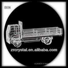 Modèle de trafic de cristal délicat E036