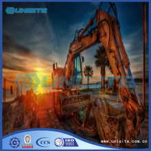 Machinery steel construction for sale
