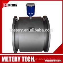 IP68 batteriebetriebener elektromagnetischer Wasserdurchflussmesser