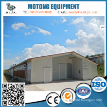 Customized steel structure house for factory and warehouse